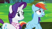 "Rainbow Dash ""really sensitive ears"" S8E17"