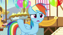 "Rainbow Dash ""staring more than usual"" S7E23"