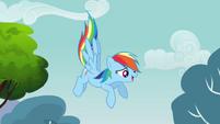 Rainbow Dash descending S3E03