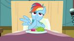 Rainbow Dash meal S02E16
