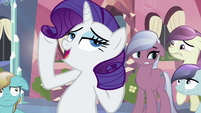 Rarity 'It's so sparkly!' S3E1