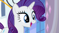 Rarity -I suggest we start at the castle- S6E12