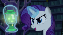 Rarity -and haunted all the costumes- S5E21