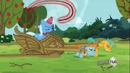 S03E05 Wielka i Potężna Trixie nie wierzy w koła