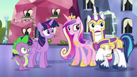 Shining Armor --we posted the extra guards-- S6E16
