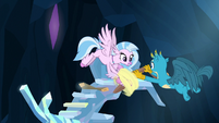 Silverstream and Gallus finish crow's nest S9E3