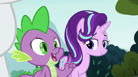 Spike -lucky we got here in time- S8E2