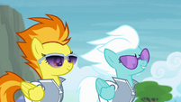 "Spitfire and Fleetfoot ""permanently"" S4E10"