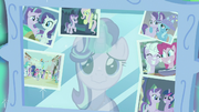 Starlight's reflection in her wall mirror S7E1