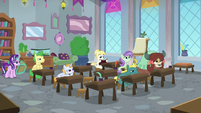 Starlight and students in a classroom S9E20