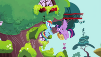 "Twilight ""Do you know Princess Celestia's favorite flight pattern?"" S4E21"