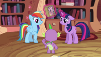 Twilight Sparkle and Rainbow Dash not impressed S2E16