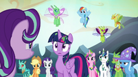 Twilight Sparkle surprised by Starlight's accomplishment S6E26