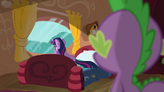 Twilight staring out the window S03E13