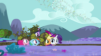Watching Spike waddle away S2E21