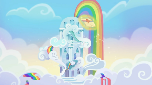 A letter comes to Rainbow Dash Rainbow Roadtrip