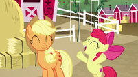 """Apple Bloom """"time for another hunt!"""" S9E10"""