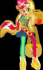 Applejack Rainbow Rocks character bio art