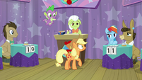 Applejack already forgot the question S9E16