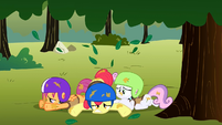 CMC landed on the ground S1E23