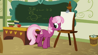 Cheerilee beginning the lesson S1E12
