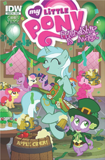 Comic issue 4 Hot Topic cover