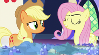 "Fluttershy ""life-threatening adventures"" S8E1"