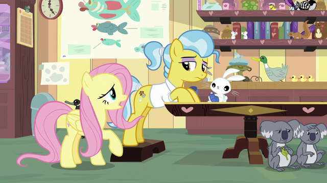 """File:Fluttershy """"you really have your hooves full"""" S7E5.png"""