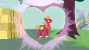Grande coração ao redor de Big Mac T2E17