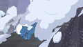 Night Glider hit by wave of snow S5E2.png
