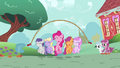 Pinkie Pie skipping fillies S2E18.png