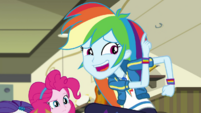 "Rainbow Dash ""I forgot I have to be at"" EGDS5"