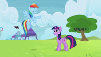 "Rainbow Dash ""Ponyville will still qualify"" S4E10"