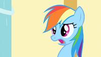 Rainbow Dash 'Let's go' S1E25