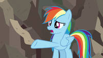 Rainbow Dash -she destroyed your statue- S7E18