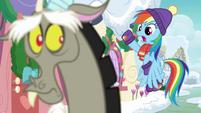 Rainbow Dash calling dibs MLPBGE
