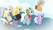 S06E07 Instruktorka i źrebięta patrzą na Rainbow Dash