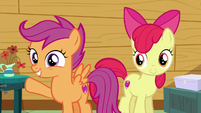 Scootaloo --every time you did something new-- S6E19