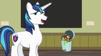 "Shining Armor ""I knew that"" S7E3"