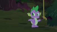 Spike near a rope S3E9