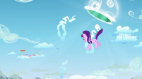 Starlight goes out of the portal S5E26