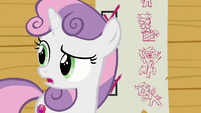 "Sweetie Belle ""something unexpected"" S8E12"