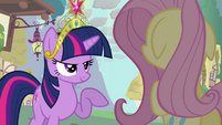 Twilight and Fluttershy -but you DO know- S03E13