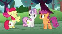 "Apple Bloom ""can't wait to tell Applejack"" S6E14"
