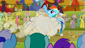 Applejack and Rainbow Dash fighting S1E13.png
