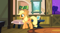 Applejack thinking to herself S3E8