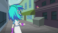 DJ Pon-3 looking at birds EG2.png