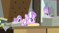Diamond Tiara on the desk S2E23