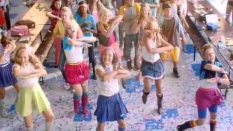 Equestria Girls (Cafeteria Song) - Ukrainian (toys promo)