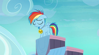 Filly Rainbow Dash feeling alone S7E7